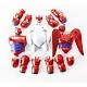 Игровой набор Big Hero 6 38700 Город Героев Фигурка Бэймакса с комплектом одежды-брони