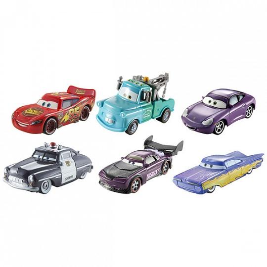 Mattel Cars Машинки, меняющие цвет, в ассортименте