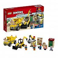 Lego Juniors 10734 Лего Джуниорс Стройплощадка
