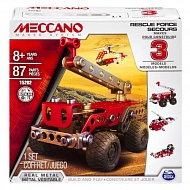Meccano 91784 Меккано Техника службы спасения (3 модели)