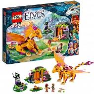 Lego Elves 41175 Лего Эльфы Лавовая пещера дракона огня