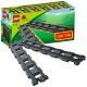 Lego Duplo 2734 6 прямых рельсов