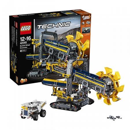 Lego Technic 42055 Лего Техник Роторный экскаватор