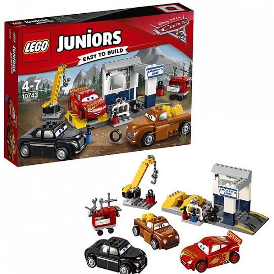 Lego Juniors Гараж Смоуки 10743