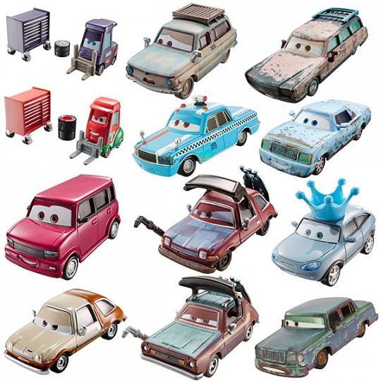 Mattel Cars Базовые машинки, в ассортименте