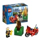 Lego City 60000 Лего Город Пожарный на мотоцикле