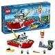 Lego City 60109 Лего Город Пожарный катер
