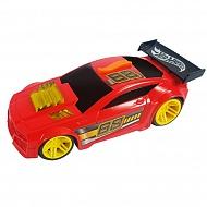 Hot Wheels HW91602 Машинка Хот вилс на батарейках свет+звук, красная 13 см