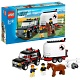 Lego City 7635 Лего Город Полноприводной трейлер с лошадью