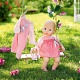 Zapf Creation my first Baby Annabell 794-333 Бэби Аннабель Кукла с доп. набором одежды, 36 см