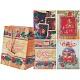 Пакет подарочный новогодний бумажный TZ14019