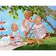 Zapf Creation Baby born 818-060 Бэби Борн Платьица в 3 ассорт.