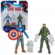 Avengers B5768 Игровой набор из 2 фигурок Мстителей, в ассортименте