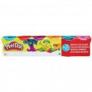 """PLAY-DOH B6752 ������� ����� Play-Doh """"4+2"""""""