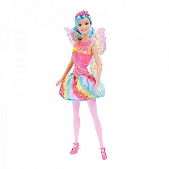Barbie Кукла-принцесса Rainbow Fashion