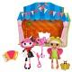 Lalaloopsy Mini 514305 Лалалупси Мини Игровой набор Веселый мим и Цветочная фея