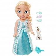 Disney Princess 989130 Принцессы Дисней Кукла Холодное Сердце Малышка Эльза с аксессуарами, 35 см