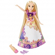Hasbro Disney Princess B5297 Принцесса Рапунцель в юбке с проявляющимся принтом