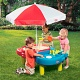 Little Tikes 401L Литл Тайкс Стол-песочница с зонтом