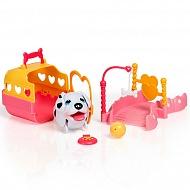 """Chubby Puppies 56701 Упитанные собачки Игровой набор """"Детская площадка"""""""
