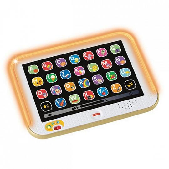 Fisher-Price Смейся и учись Обучающий планшет с технологией Smart Stages
