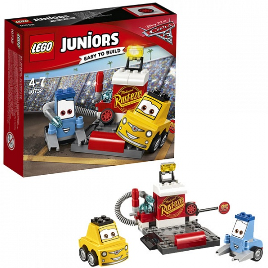 Lego Juniors Пит-стоп Гвидо и Луиджи 10732