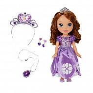 Disney Princess 931200 Принцессы Дисней Кукла София 37 см с украшениями для девочек