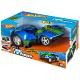 Hot Wheels HW90726 Машинка Хот вилс на батарейках свет+звук, электромеханическая синяя 33 см