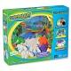 Sands Alive 25030 Сэндс Элайв Набор для творчества 3D Крепость Динозавров  675г,  аксеccуары