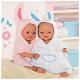 """Zapf Creation Baby born® 808-313 Бэби Борн Банный халат """"Зайка"""" в ассорт."""
