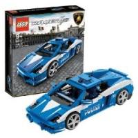 Lego Racers 8214 Лего Гонки Автомобиль Gallardo LP 560-4 Polizia 8214 ЛЕГО