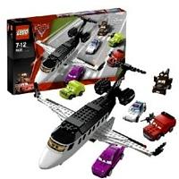 Lego Cars 8638 Лего Тачки 2 Спасение на шпионском самолете 8638 ЛЕГО