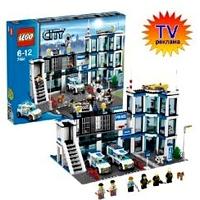 Lego City 7498 Лего Город Полицейский участок 7498 ЛЕГО