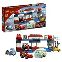 Lego Duplo Cars 5829 Лего Дупло Тачки 2 Пит-стоп 5829 ЛЕГО