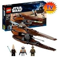 Lego Star Wars 7959 Лего Звездные войны Звёздный истребитель Джеонозианцев 7959 ЛЕГО