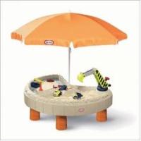 Little Tikes 401N Стол-песочница с зонтом и зоной для воды