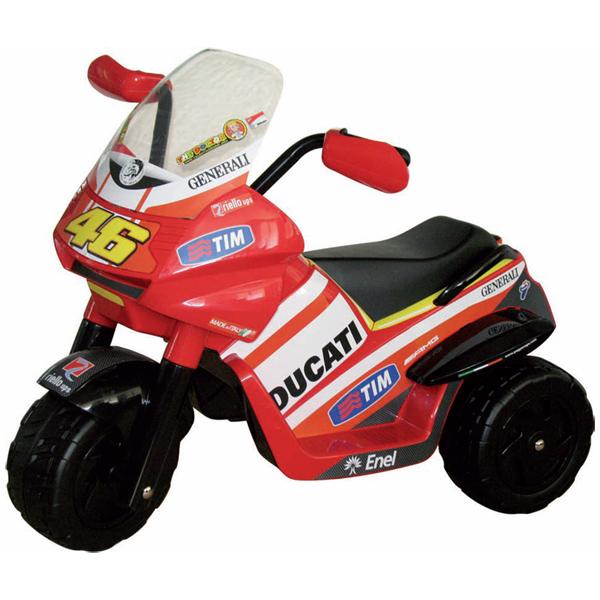 Детский электромобиль Peg-Perego ED0916 Raider Rossi