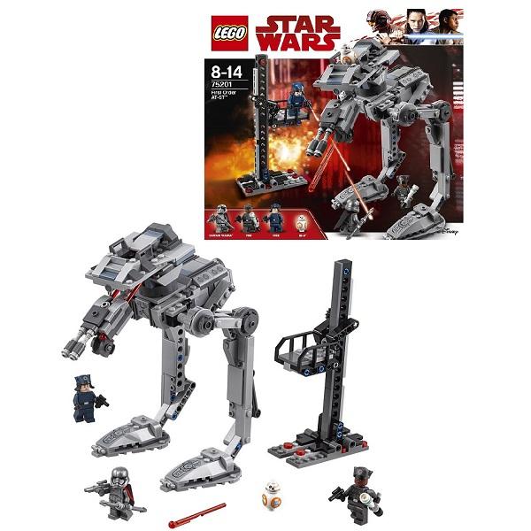LEGO Star Wars 75201 Конструктор ЛЕГО Звездные Войны Вездеход AT-ST Первого Ордена конструктор lego 75201 вездеход at st первого ордена