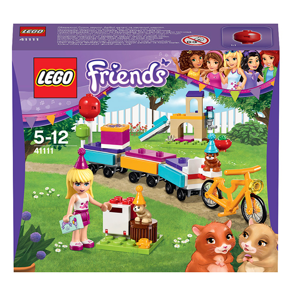 Lego Friends 41111 Конструктор День рождения: велосипед