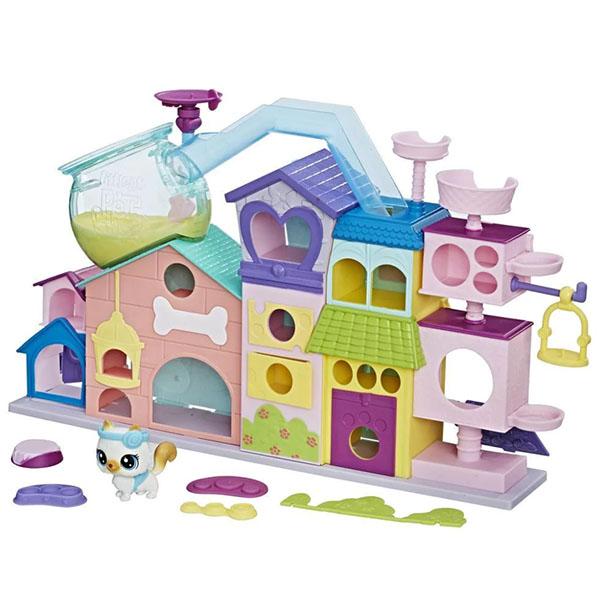 Hasbro Littlest Pet Shop C1158 Апартаменты для петов игровые наборы littlest pet shop лпс апартаменты для петов