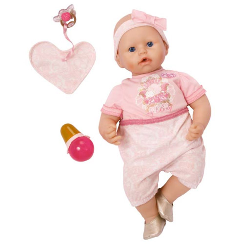 Zapf Creation Baby Annabell 792-148_1 Бэби Аннабель Кукла нарядная с мимикой, 46 см