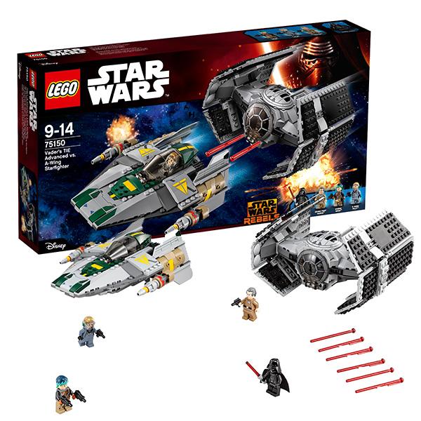 Lego Star Wars 75150 Лего Звездные Войны Усовершенствованный истребитель СИД Дарта Вейдера диляра тасбулатова у кого в россии больше