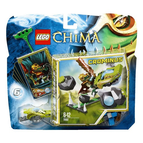 Лего Чима 70103 Конструктор Супер Камнебол