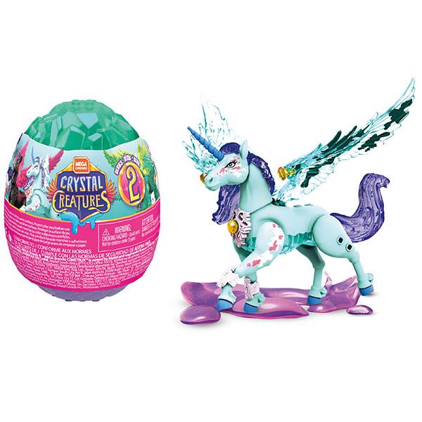 """Mattel Mega Bloks GLK07 Mega Construx """"Хрустальные существа"""" в яйце (в ассортименте)"""