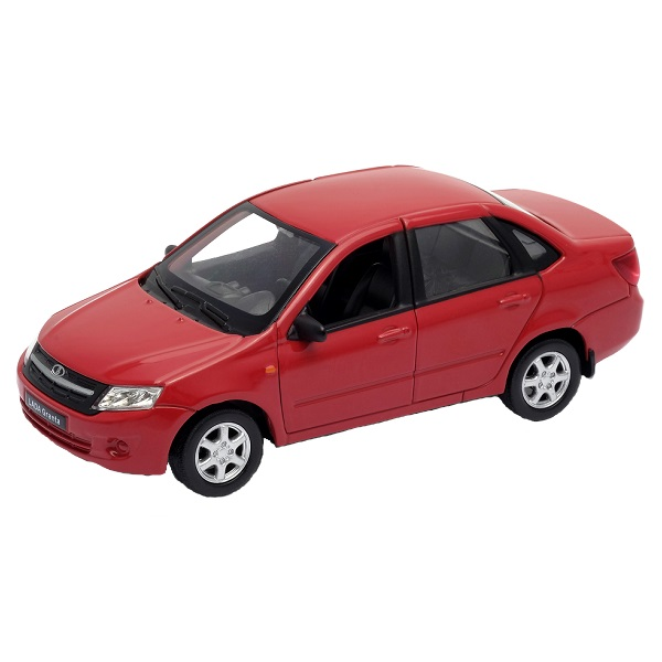 Welly 43657 модель машины 1:34-39 LADA Granta на авто лада 2106 как промыть карбюратор не работают холостые обороты