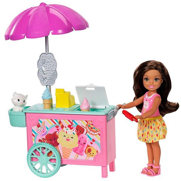 Mattel Barbie FDB33 Барби Челси и набор мебели mattel barbie fdb33 барби челси и набор мебели