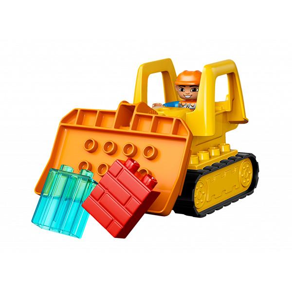 LEGO DUPLO 10813 Конструктор ЛЕГО ДУПЛО Большая стройплощадка