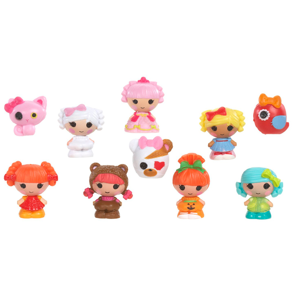 Lalaloopsy Tinies 530435 Лалалупси Малютки уп-ка из 10 шт (в ассортименте) lalaloopsy mini 527084 лалалупси мини в ассортименте