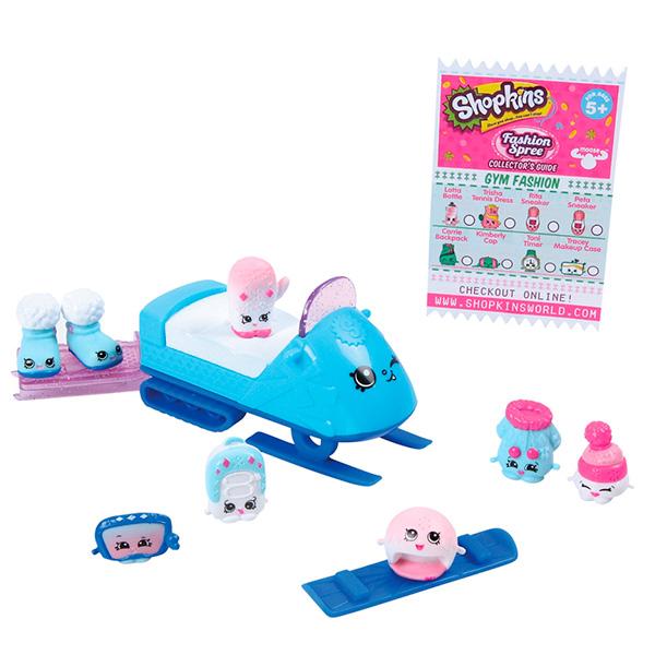 Shopkins 56295 Шопкинс Игровой набор Модная лихорадка Морозная мода игровые наборы shopkins игровой набор веселая кухня