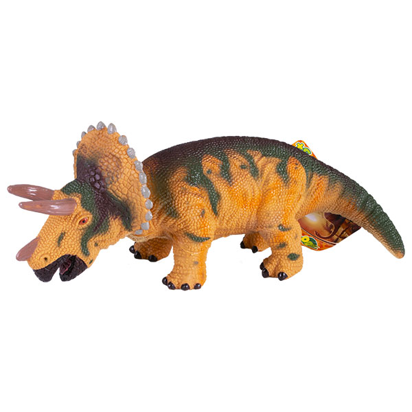 """Игрики ZOO TAV024 Фигурка мягконабивная """"Динозавры"""" со звуком, 3 вида (в ассортименте)"""